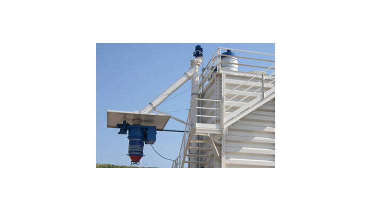 CVS vertical screw conveyors
