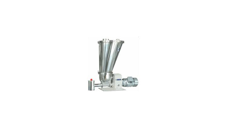 Loss in weight screw feeder